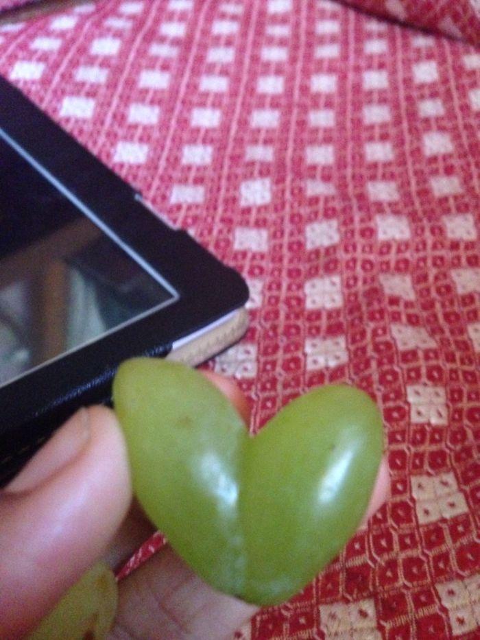 Heart Shaped Grape!!!