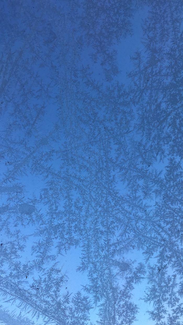 Blue Sky Throught My Car