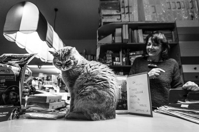 Leo & Valeria At The Stationary