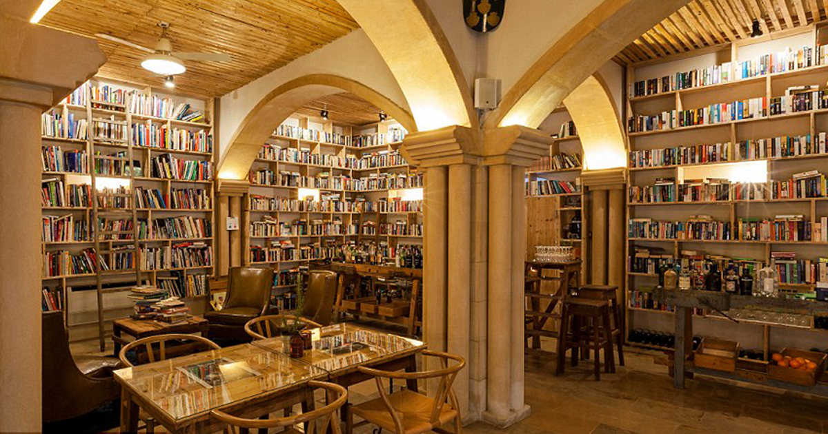 This Hotel With 50,000 Books Is Every Bookworms Dream