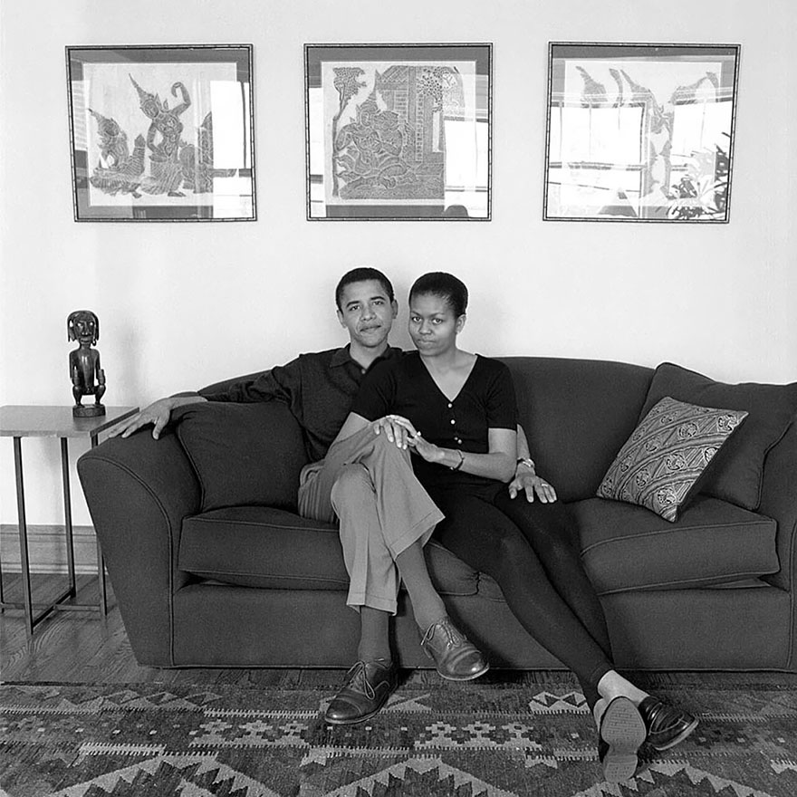 Barack And Michelle Obama, May 26, 1996