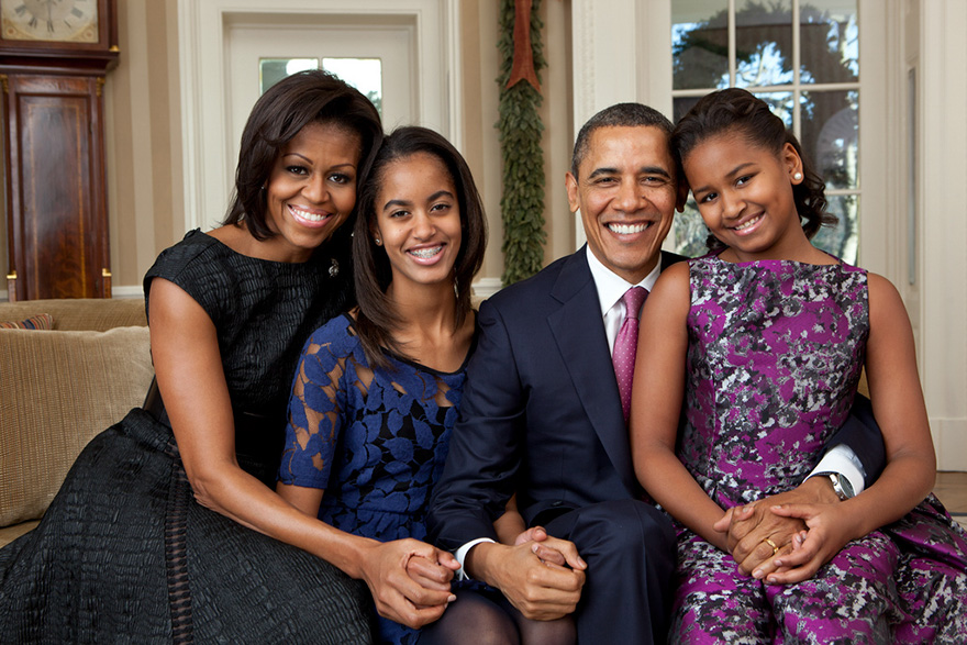 Family Portrait In The Oval Office