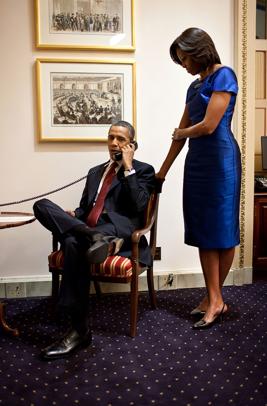 In A Phone Call From The U.S. Capitol Immediately After The State Of The Union Address, President Barack Obama Informs John Buchanan That His Daughter Jessica Was Rescued By U.S. Special Operations Forces