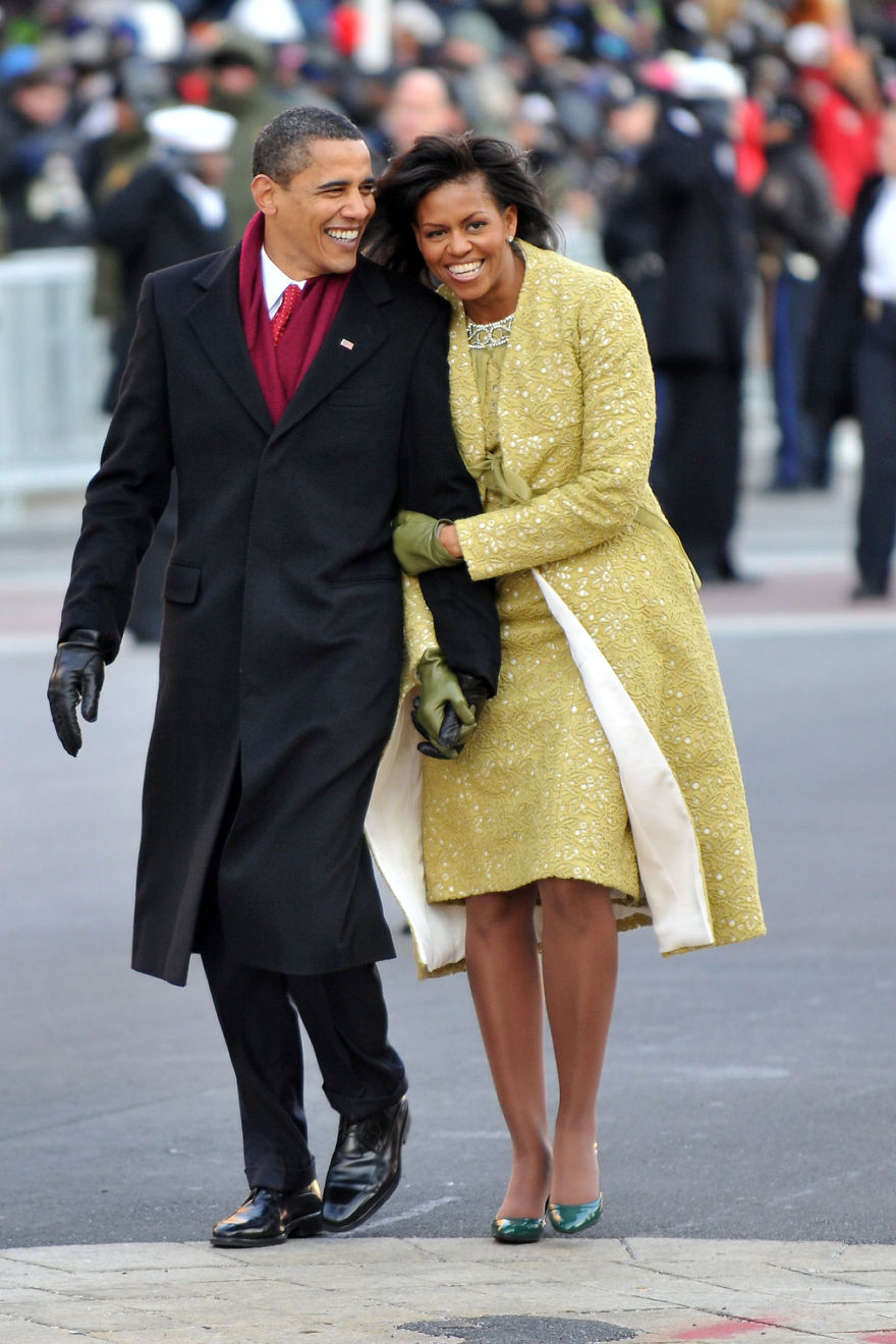 At The Inaugural Parade In Washington D.c., 2009