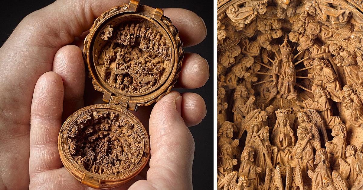 16th century boxwood carvings are so miniature researchers used x