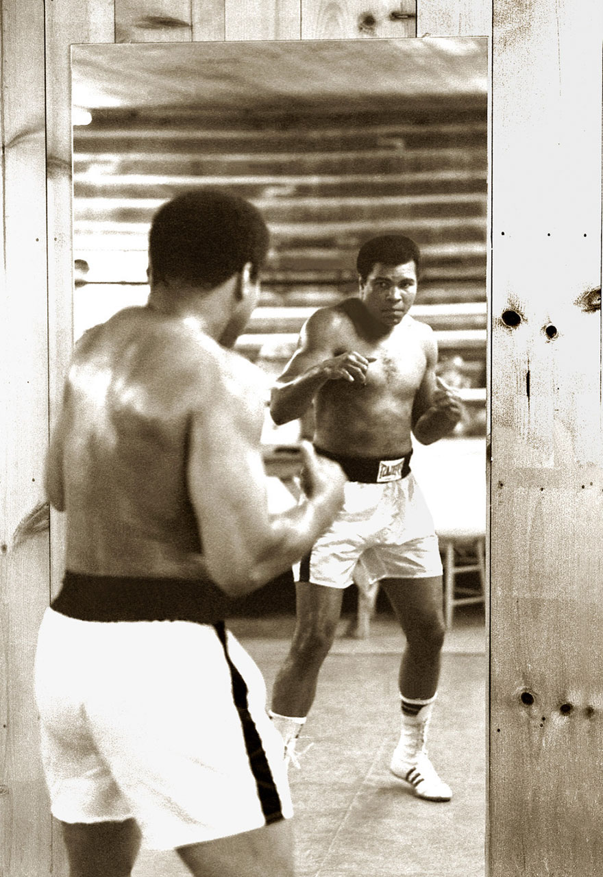 Mirror-Boxing At Deer Lake, 1978