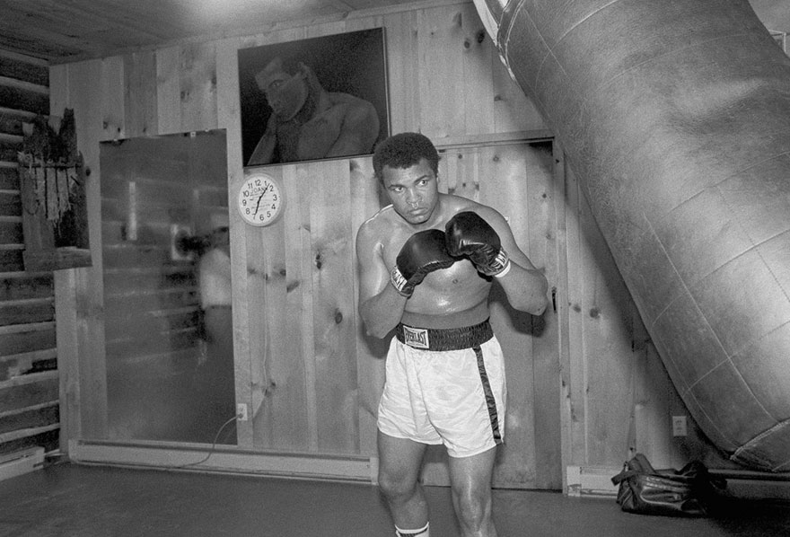 Muhammad Ali Trains At His Deer Lake, Pennsylvania, Retreat For His Upcoming Fight With Leon Spinks, August 14, 1978