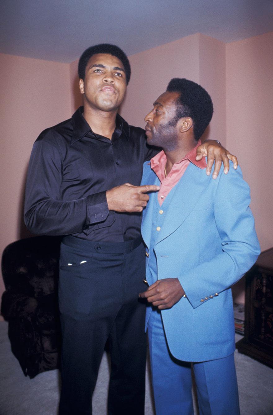 Muhammad Ali With Pele