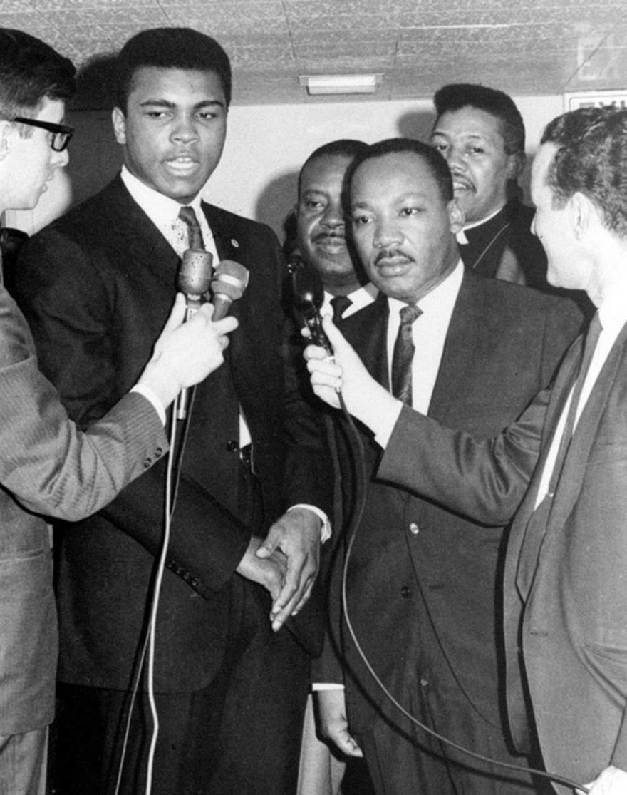 Muhammad Ali With Martin Luther King