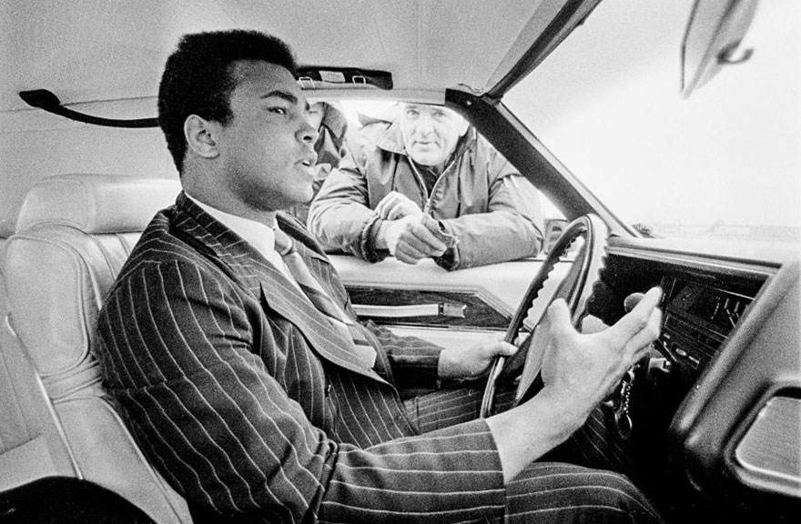 On The Drive Down To The Fight, Ali Was Speeding. When He Was Pulled Over, The Policeman Didn't Recognize Him. 'I'm The Champ,' Ali Reportedly Said. The Policeman Let Him Go With A Warning. February 1970