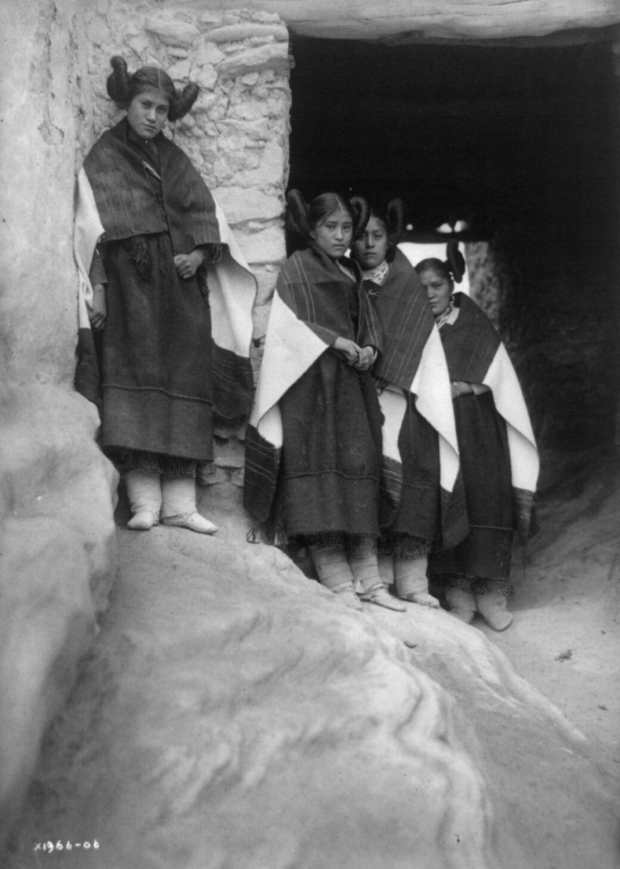 Walpi Maidens, 1906