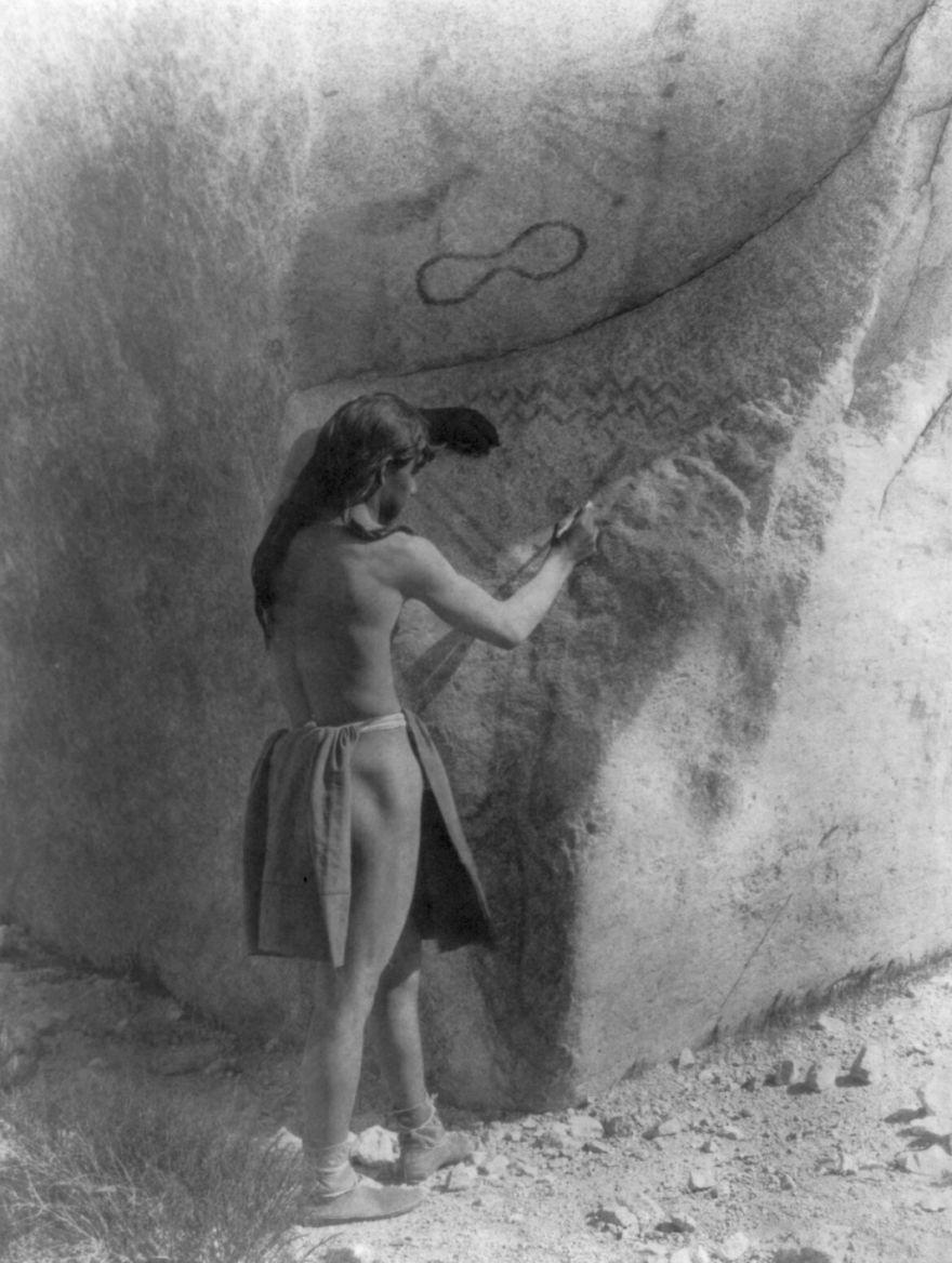 The Primitive Artists-paviotso, 1924