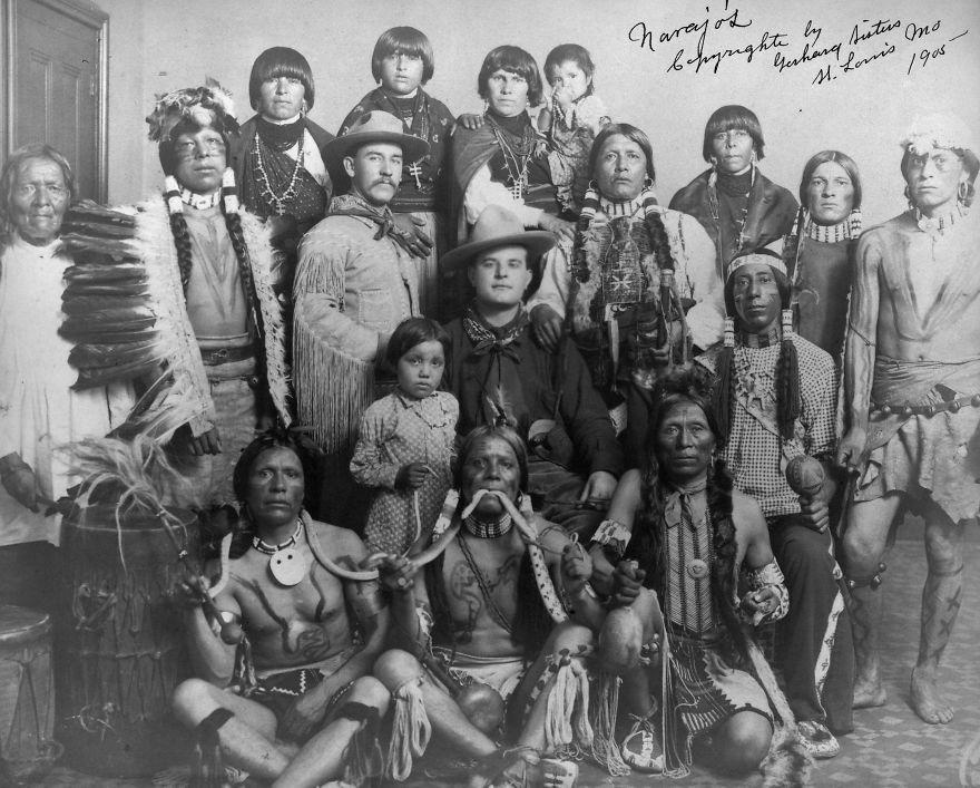 Navajos, 1905