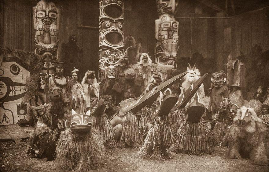 Qagyuhl Dancers, 1914