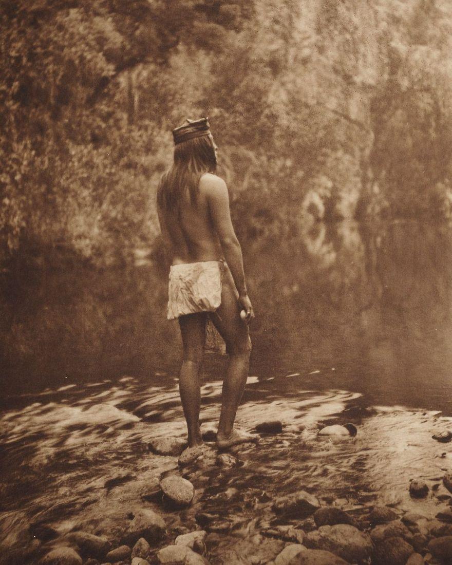 An Apache Man, C. 1910