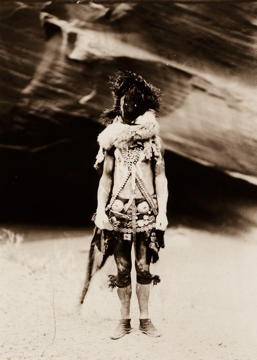 Nayenezgani, A Navajo Man, 1904