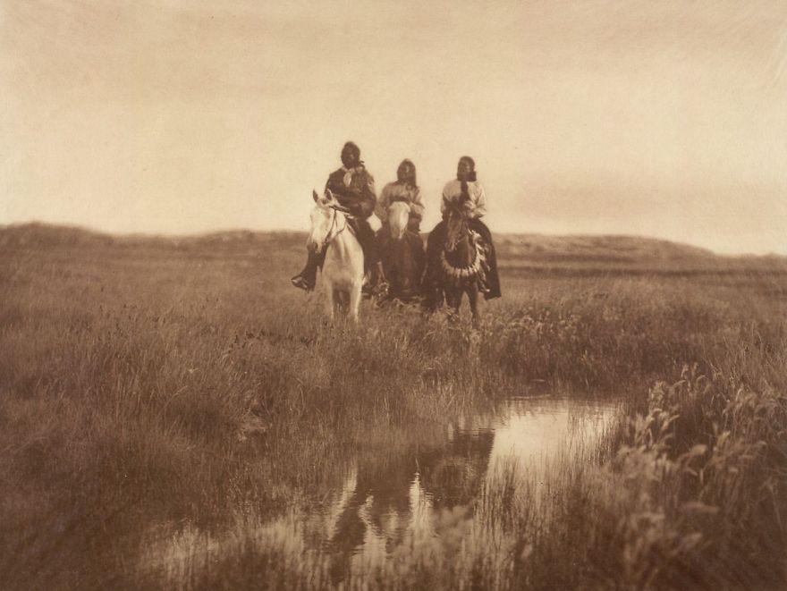 Piegan Chiefs, 1900