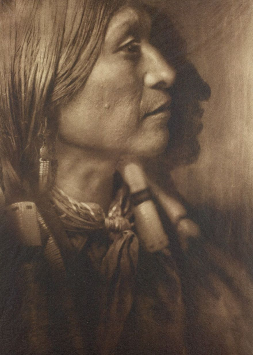 Vash Gon, A Jicarrilla Man, C. 1910