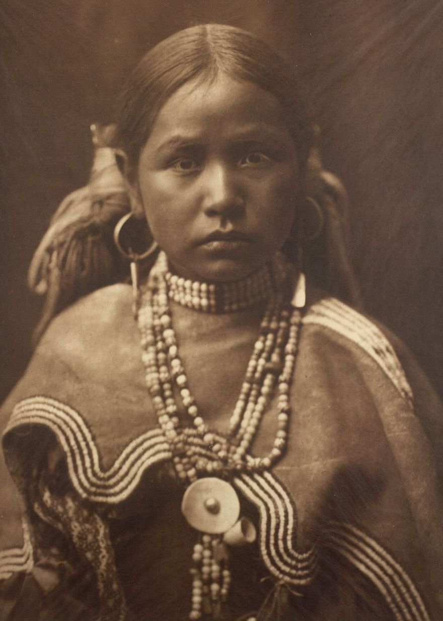 A Jicarrilla Girl, C. 1910