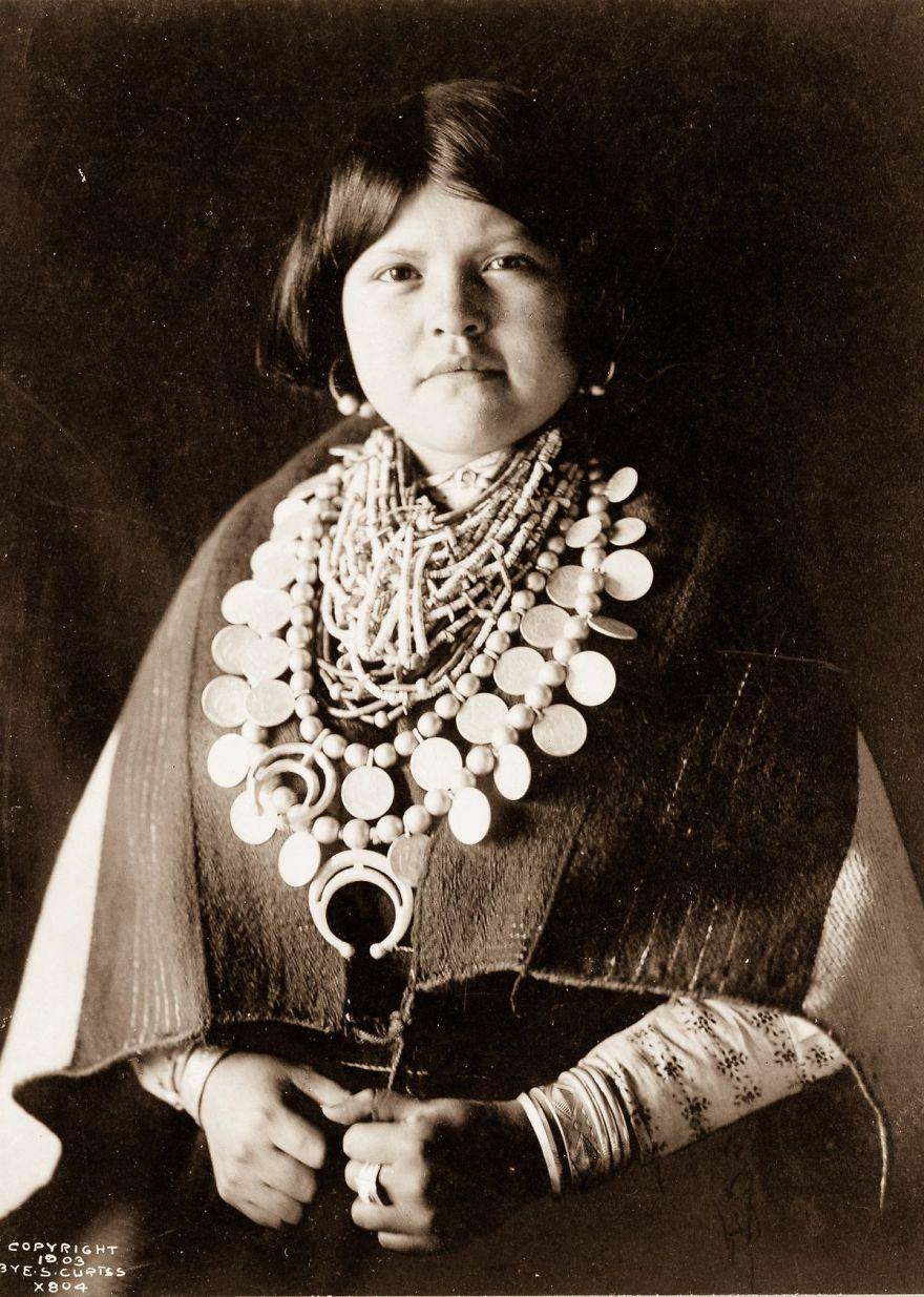 A Zuni Woman, 1903