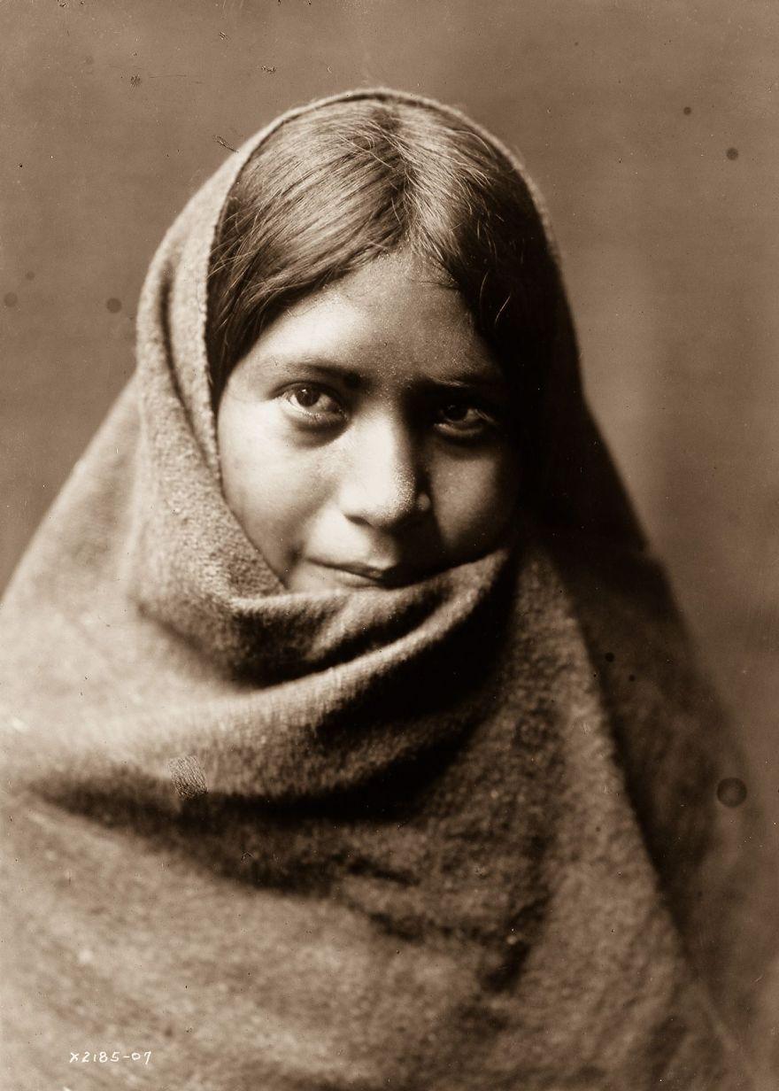 A Maricopa Woman, 1907