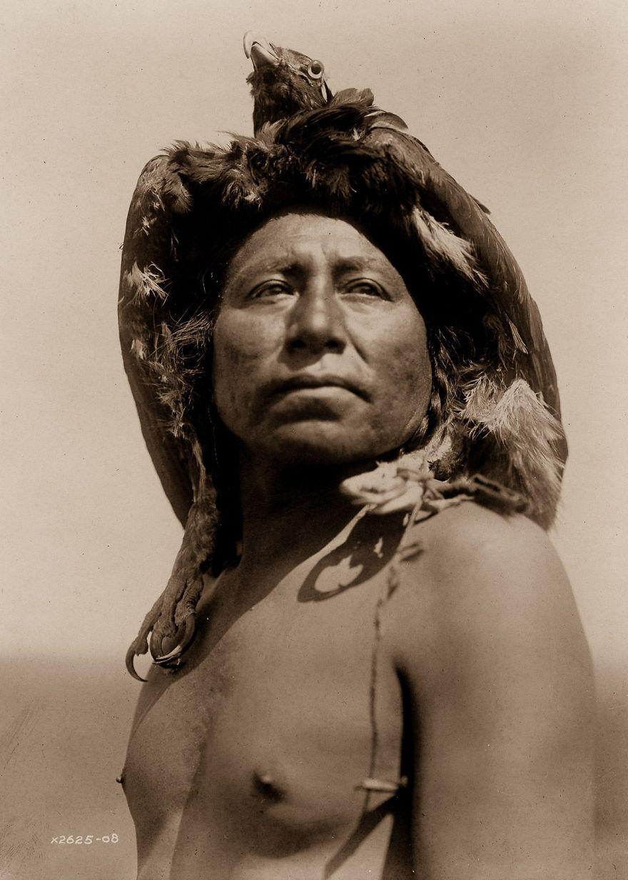 An Apsaroke Shaman, 1908