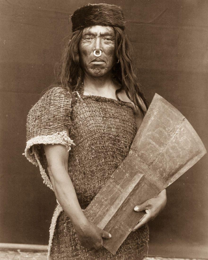 Hakalahl, A Nakoaktok Chief, 1914