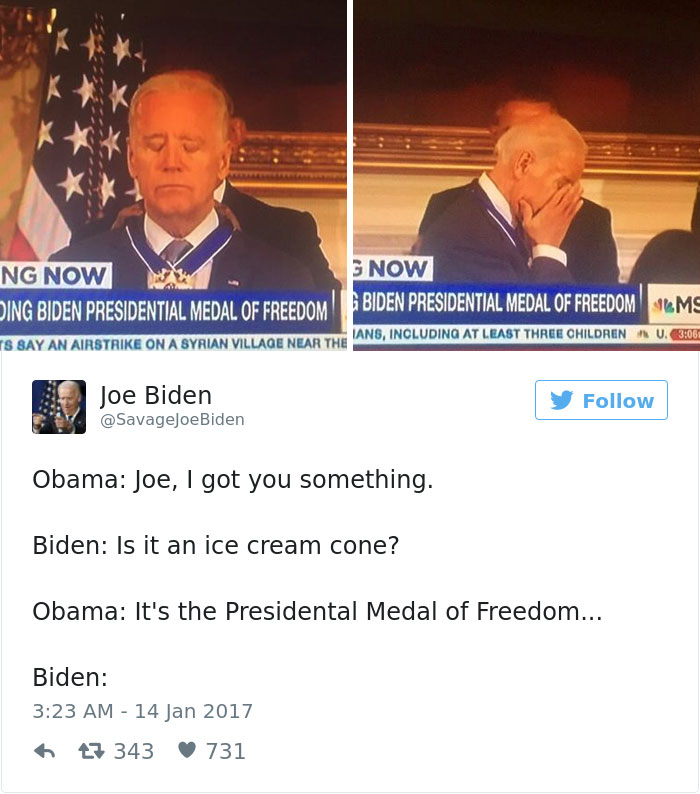 obama biden medal of freedom memes 587de32c16cab__700 12 hilarious memes about obama surprising joe biden with the