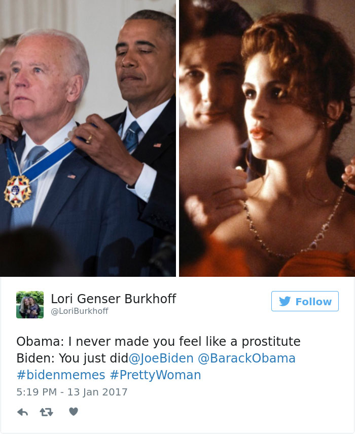 30 Hilarious Memes About Obama Surprising Joe Biden With The Medal Of Freedom Bored Panda