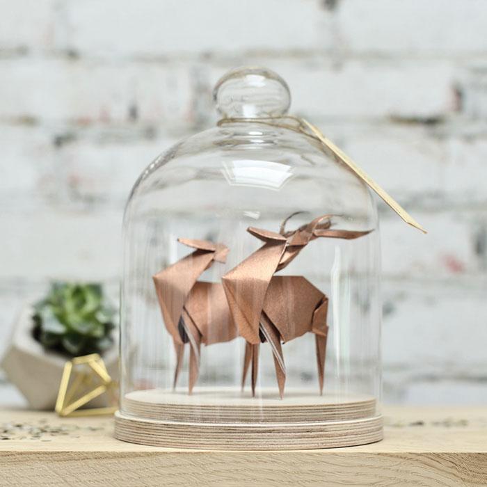 Copper Deer Couple