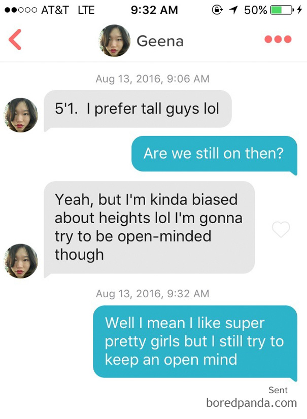 Tall pick up lines