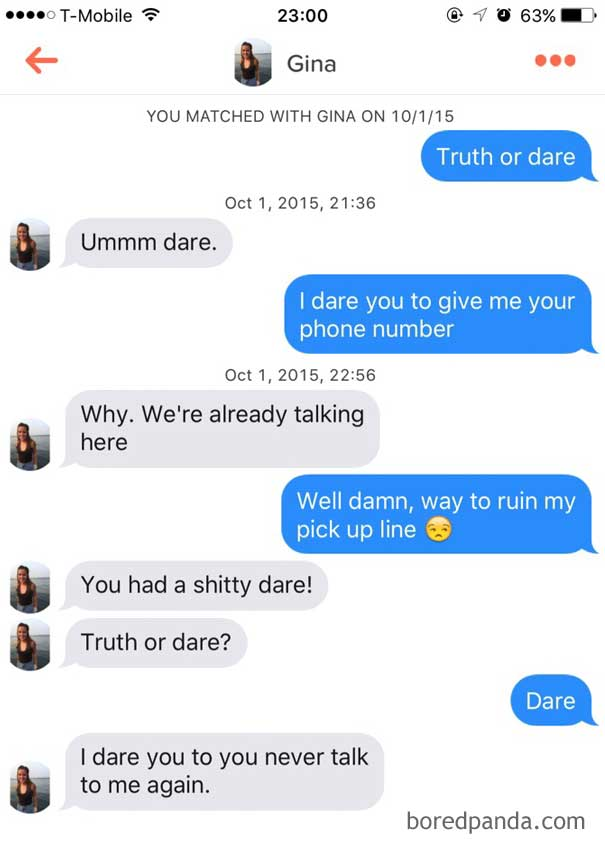 10+ Of The Most Savage Comebacks To Terrible Pickup Lines