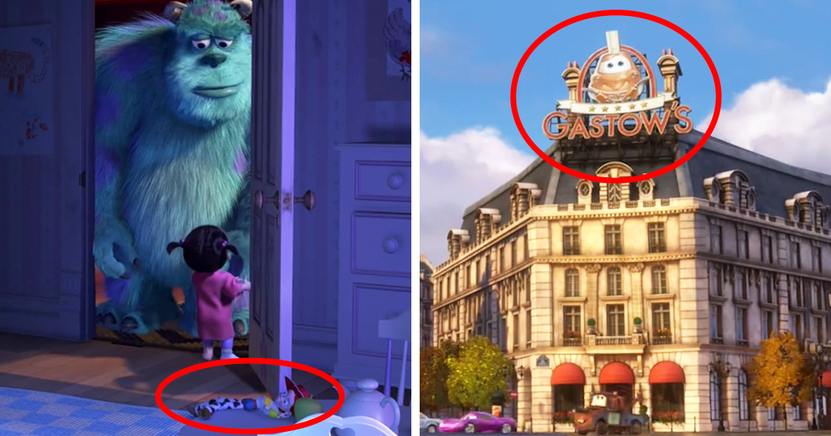 Pixar Just Released A Video That Proves All Their Movies Are - Pixar movies connected