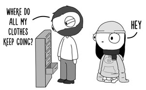 Girlfriend Secretly Illustrates Everyday Life With Her BF, He Uploads Comics Online And They Go Viral