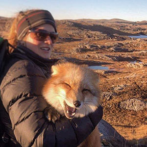 Ayla The Fox Was Rescued From A Fur Farm And Was Given A Second Chance At Life