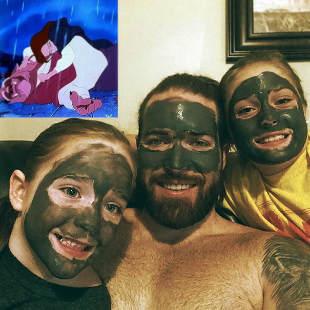 Oh, You Know, Just A Little Spa And Movie Time With The Girls