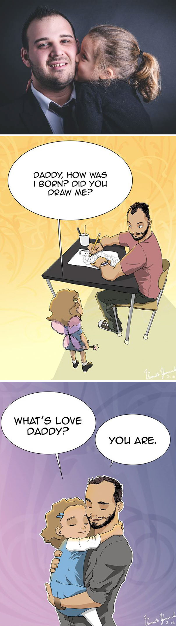 This Single Dad Is Making Heartwarming Illustrations Of Everyday Life With His Daughter