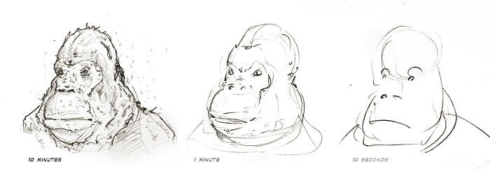Well... Yeah! Gorilla's Heads