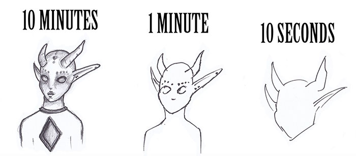 10 Minutes / 1 Minute / 10 Seconds