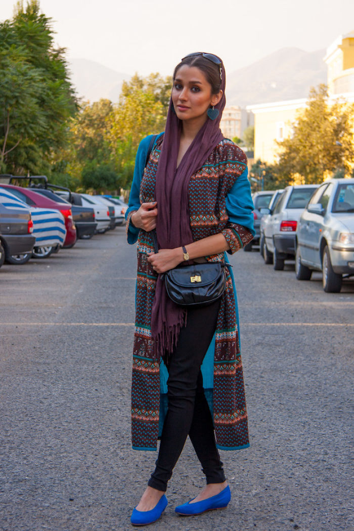 Fashion In Streets Of Tehran