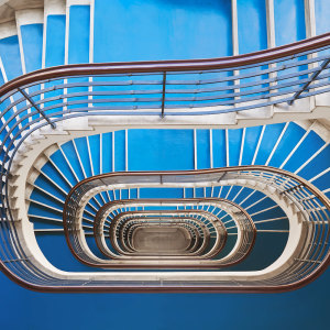 I Photographed Spiral Staircases, The Hidden Time Machines Of Budapest