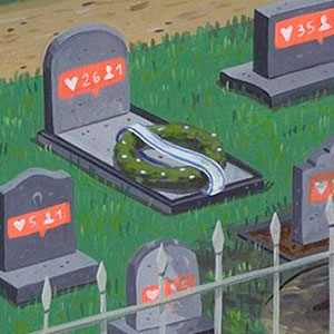 10+ Honest Illustrations About Today's Society By Brecht Vandenbroucke