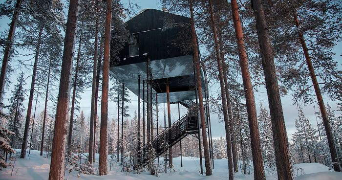 This Treehouse Hotel In Isolated Lapland Forest Lets You
