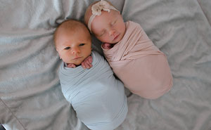 This Mom Had A Touching Photoshoot Of Her Newborn Twins Who Didn't Have Much Time Left