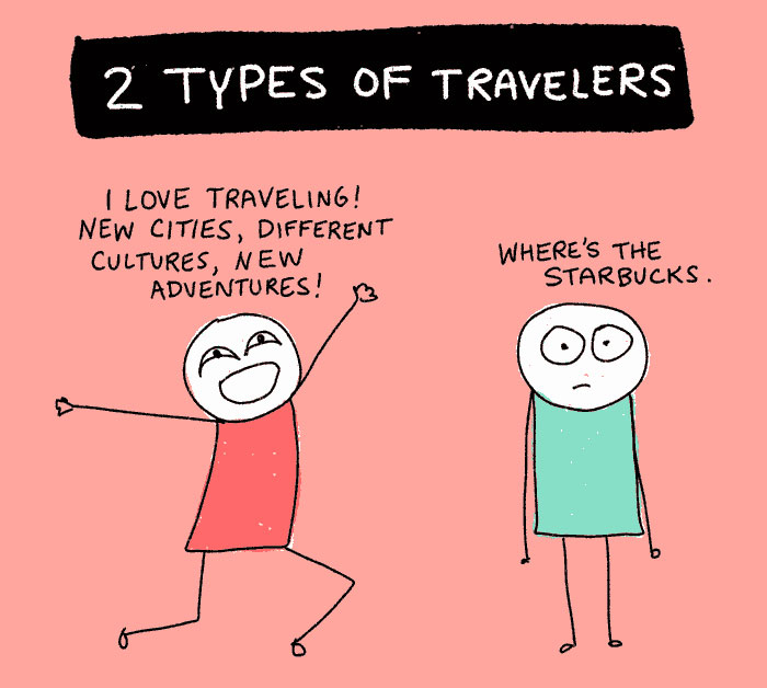 There Are Two Types Of Travelers In The World: Which One Are You? (10 Pics)