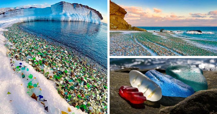 Image result for Ussuri Bay glass beach