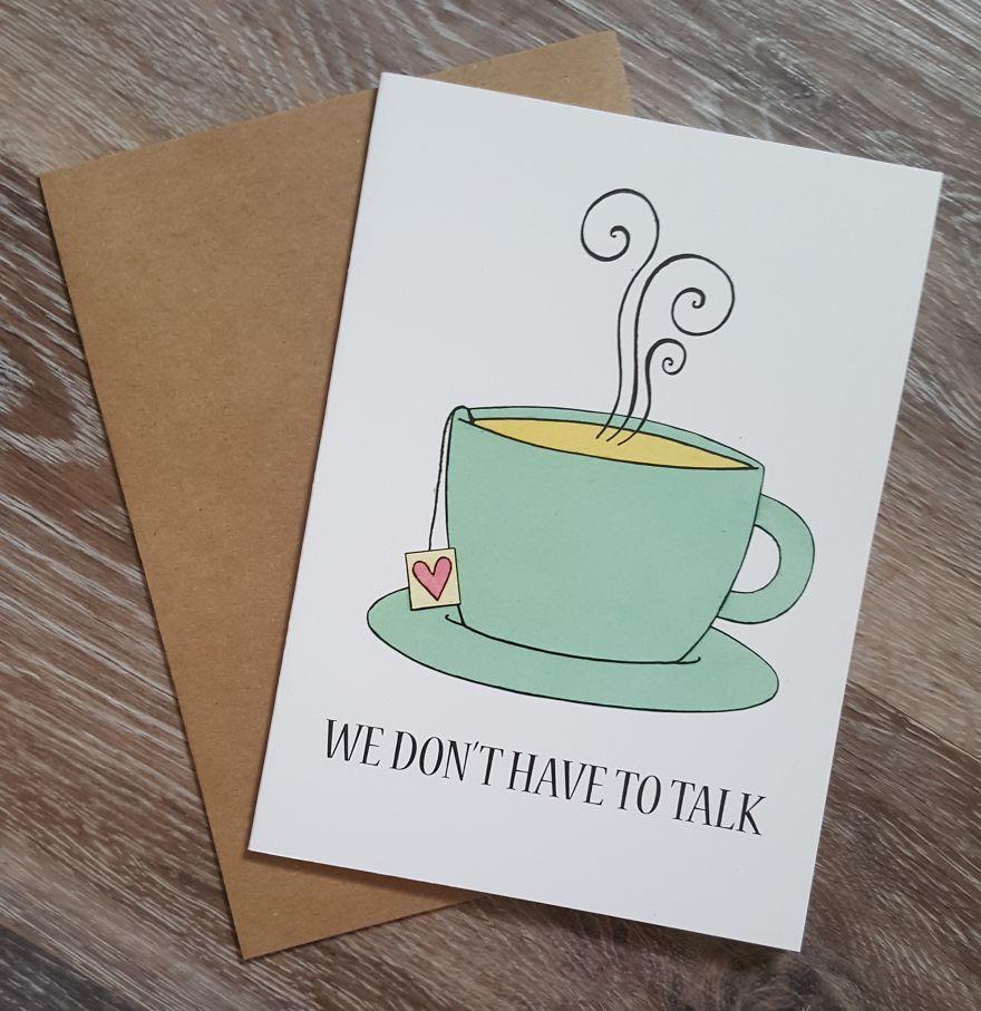 I Make Mental Health Compassion Cards