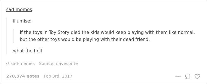 Toy Story Just Got Disturbing