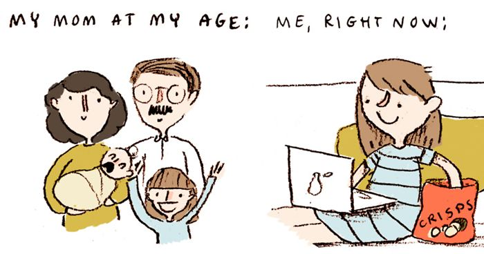 43 Comics In Which I Try To Be An Adult But Fail Miserably