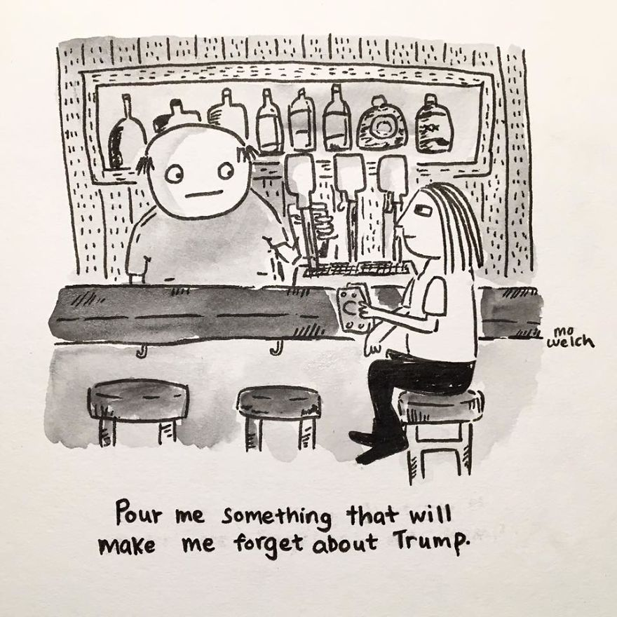 My Comics Are More Honest Since Trump Won